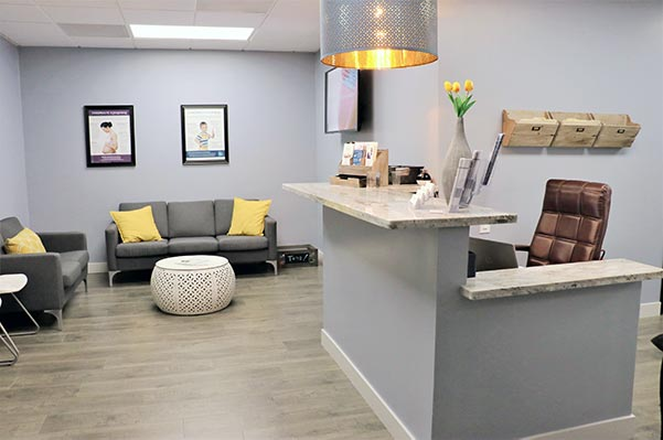 Chiropractic Simi Valley CA Reception Area