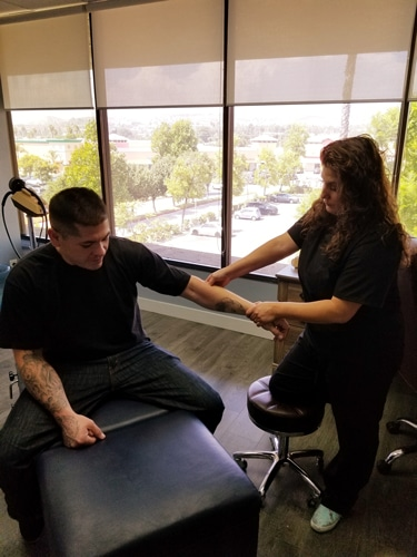 Treatment at Nurture Family Chiropractic - Simi Valley