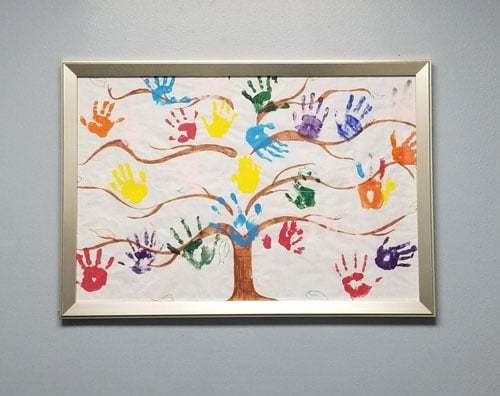 Childrens Hand Painting in Simi Valley CA
